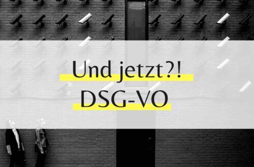 DSGVO - Wir haben doch noch Zeit