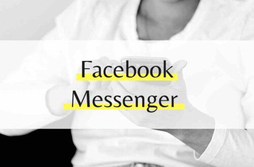 Facebook Messenger Einführung