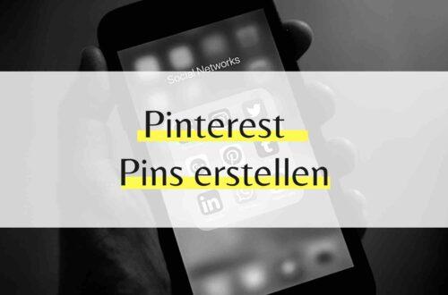 Pin perfect! Pinterest Pin erstellen