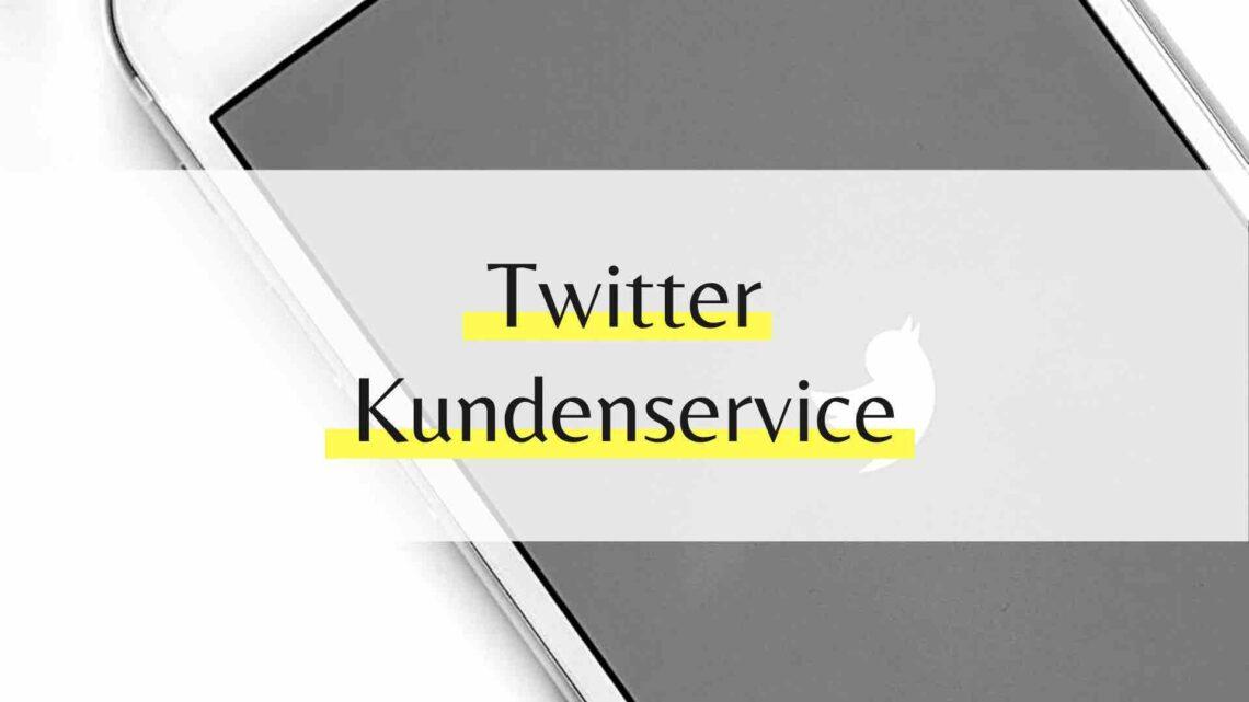 Twitter Kundenservice