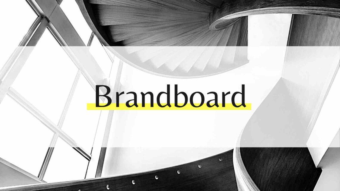 Brandboard für deine Marke