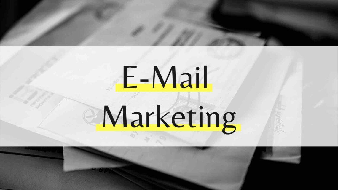 E-Mail Marketing für Einsteiger