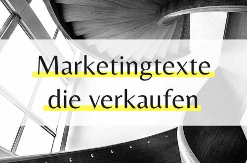 Marketingtexte die verkaufen