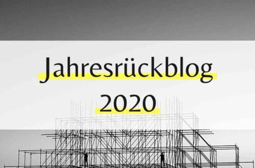 Jahresrückblog 2020