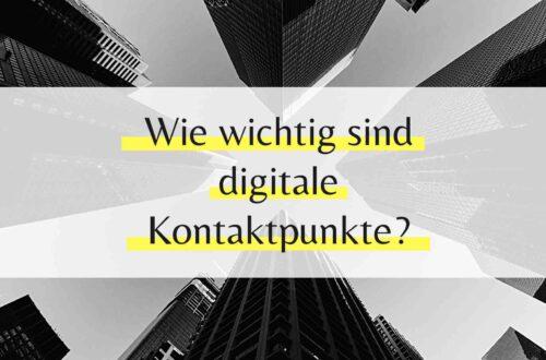 Digitale Kontaktpunkte