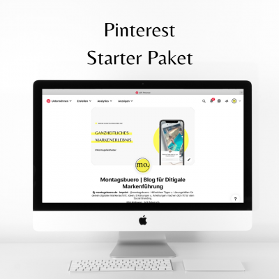 Pinterest Starter Paket