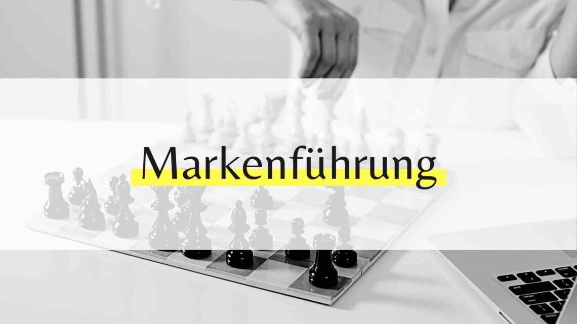 Markenführung und Marketing - Wo ist der Unterschied?