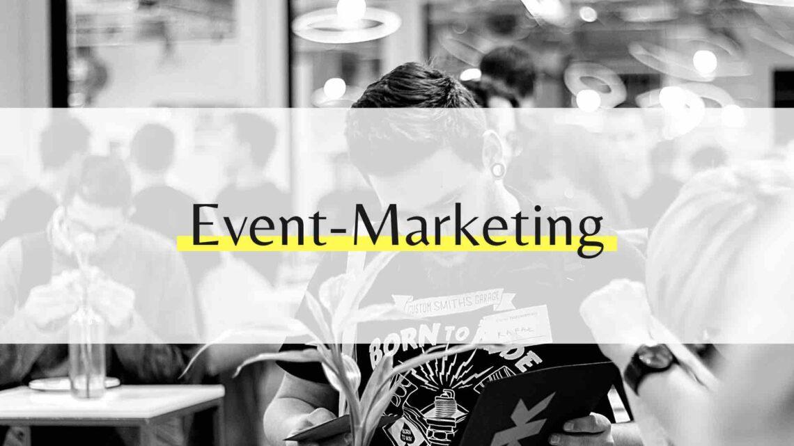 Event-Marketing - Begleite Veranstaltungen auf Social Media